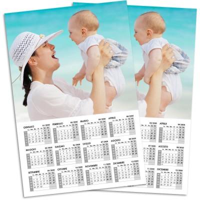 Calendario A4 | Sfondo bianco