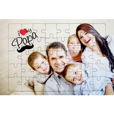Puzzle personalizzabile formato A4 (28,3x19,8 cm 180pz)